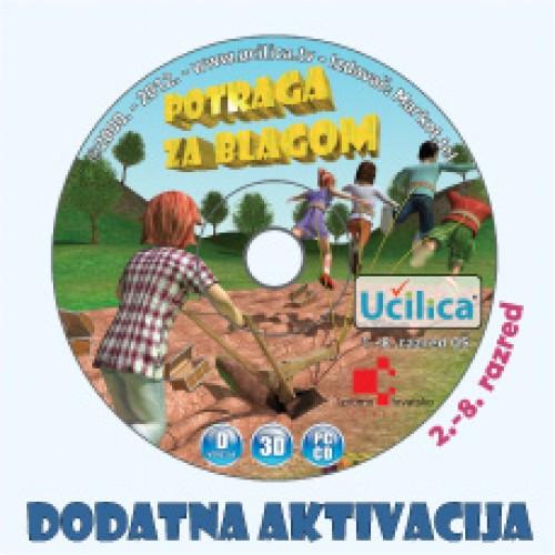 Dodatna aktivacija CD Učilice od 2. - 8. razreda