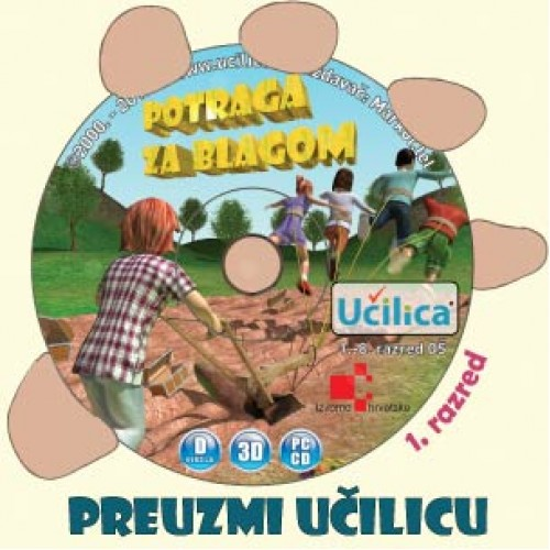 CD Učilica za 1. razred - download