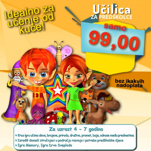 Učilica za predškolce (za download)